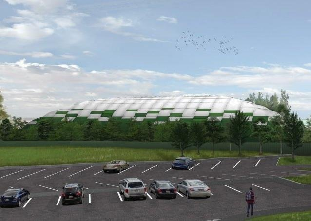 How the revamped training ground could look