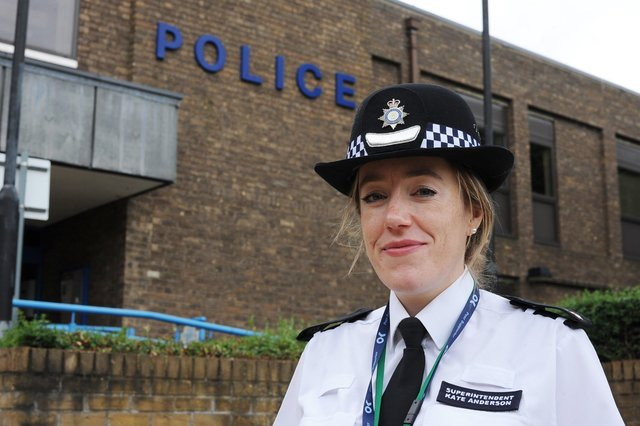 Superintendent Kate Anderson at Thorpe Wood Police Station EMN-210621-155645009