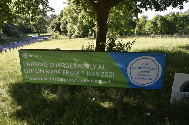 Car parking charges to start at Orton Mere EMN-210616-080307009