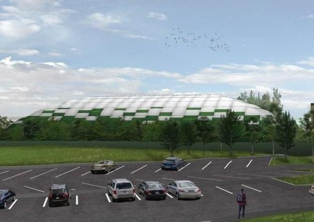 How the new training ground could look