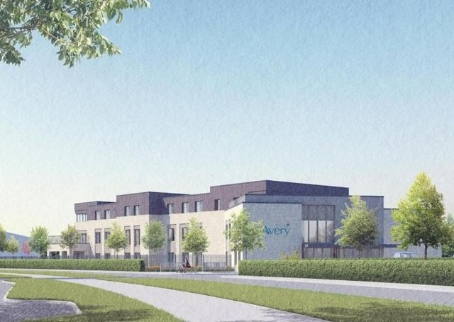 A visual of the proposed new care home