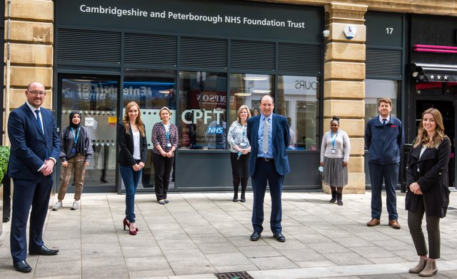 CPFT recently moved staff into Peterborough Town Hall