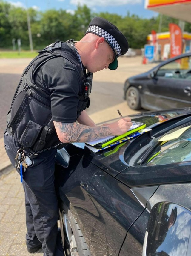Police have been tackling drug and traffic issues