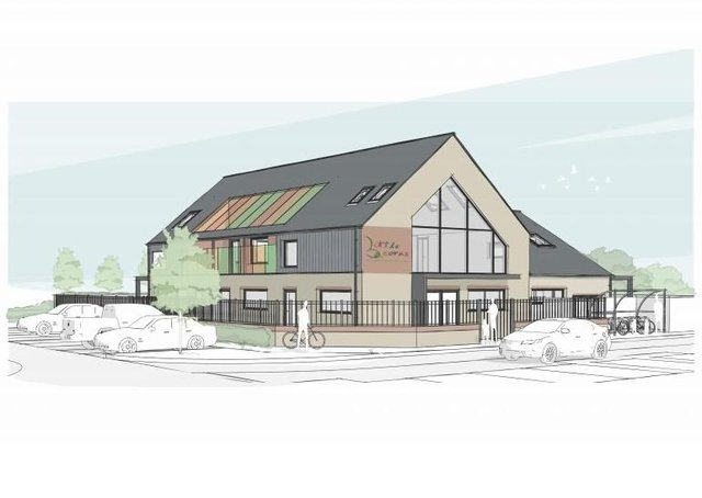 Plans have been submitted for a new nursery at Hampton Gardens
