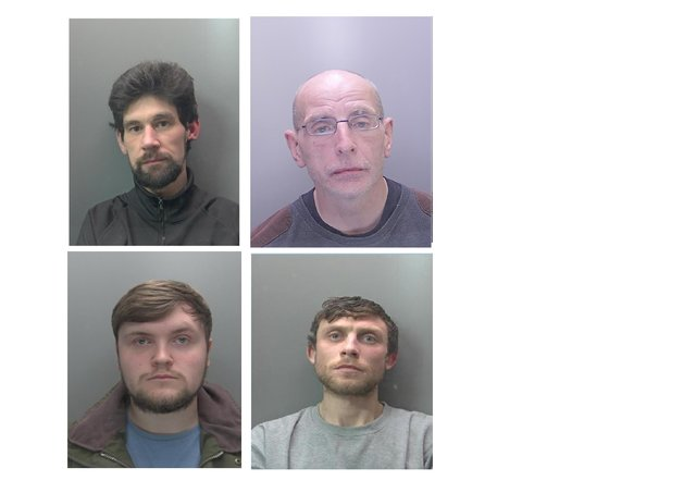 Some of the criminals jailed in June