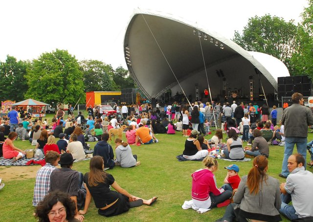 A flashback to the Peterborough festival from 2009 at Central Park