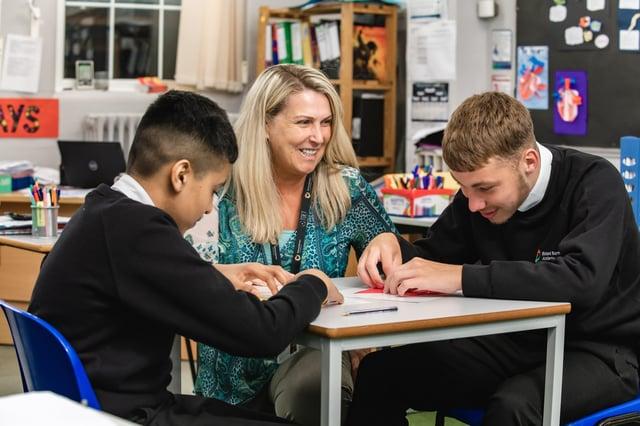 Richard Barnes Academy has spent a year under the Thomas Deacon Education Trust