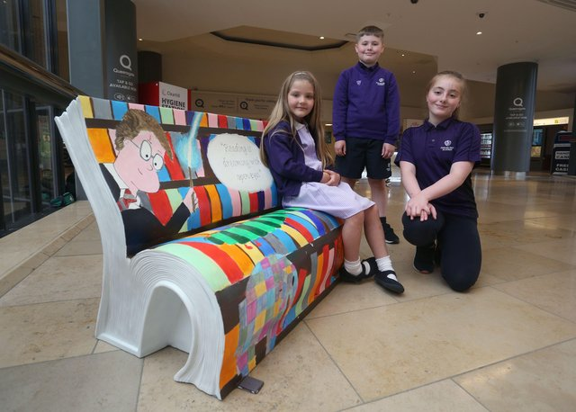 Newark Hill Primary Academy with its bench at Queensgate