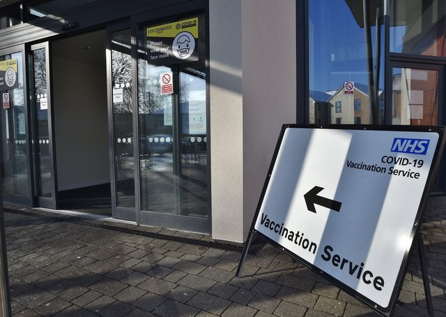 Vaccination clinic at the City Care Centre on Thorpe Road.