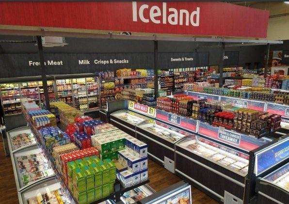 The new branch of Iceland inside The Range in Peterborough