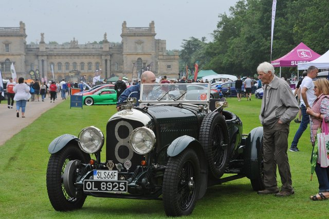 Scenes from the Baston Car and Bike Show at Grimsthorpe Castle. Pictures: David Lowndes