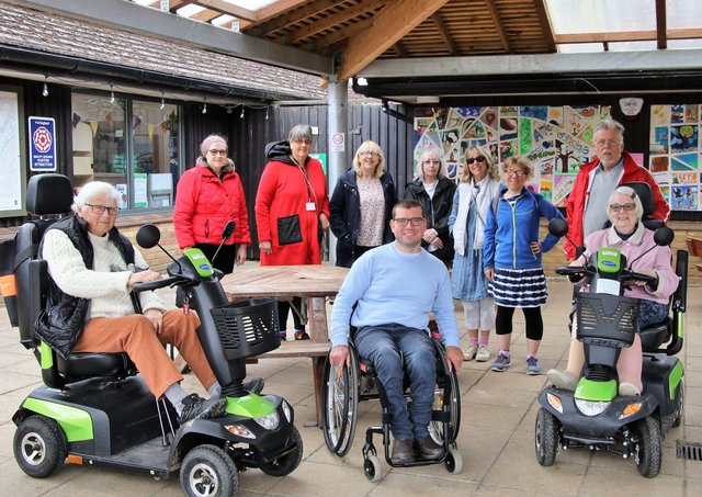A Disability Peterborough Walks on Wednesday