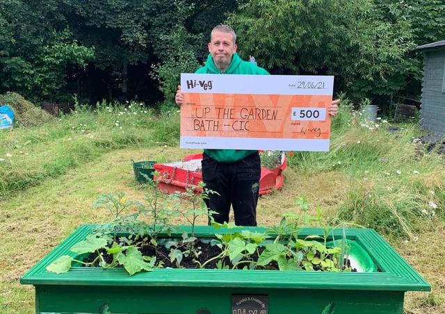 Up the Garden Bath won a £500 grant