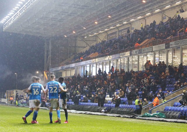 Peterborough United supporters  can return to the Weston Homes stadium. Picture: Joe Dent/JMP