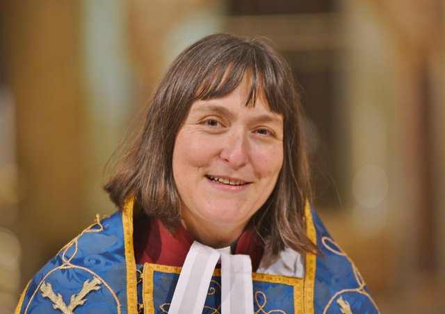 Revd Canon Sarah Brown is Residentiary Canon at Peterborough Cathedral.