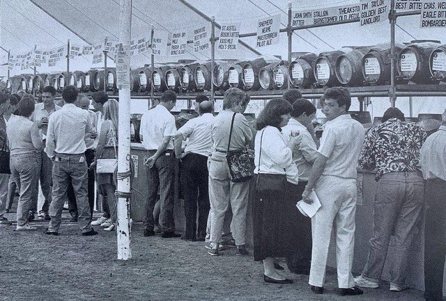 The Peterborough Beer Festival has been a long term feature of the Embankment.