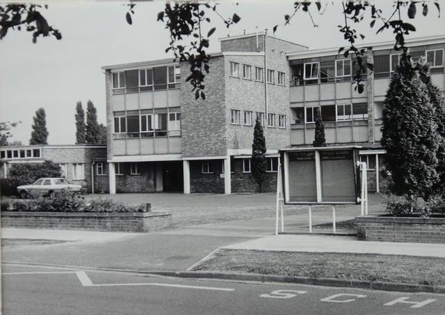 John Mansfield school pictured in 1983.