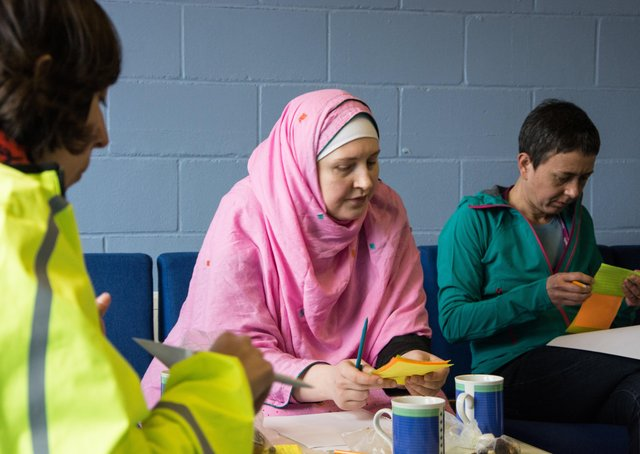One of the Raising Millfield workshops