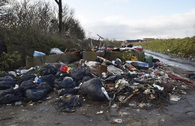 Fly-tipping in Peterborough
