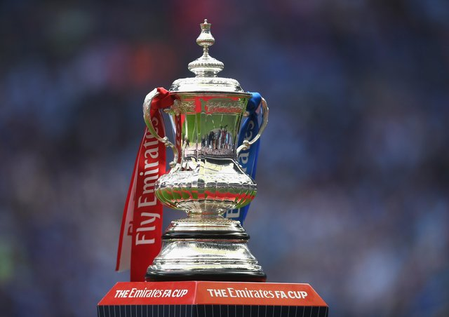 The FA Cup trophy. Photo: Getty Images.