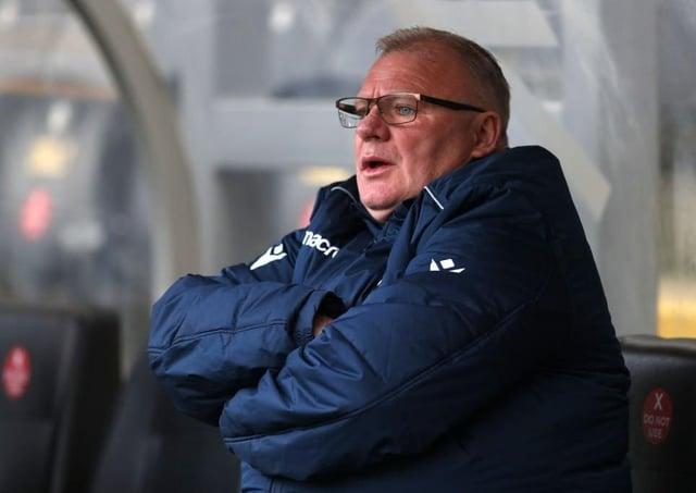Gillingham manager Steve Evans. Photo: George Wood/Getty Images.