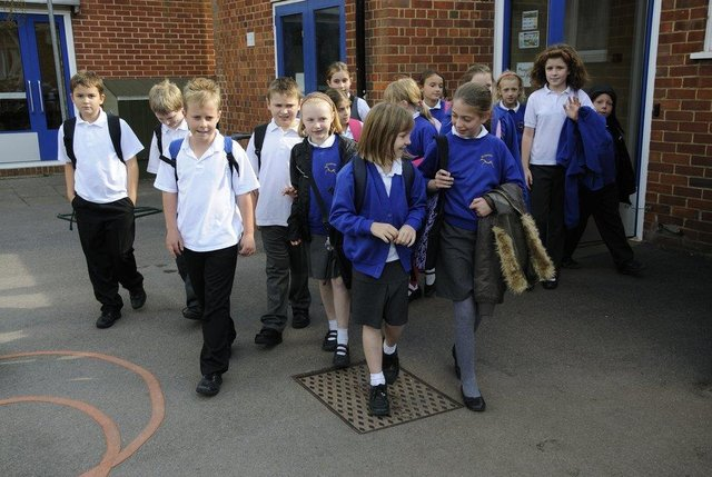 A school uniform exchange has been launched by City College Peterborough