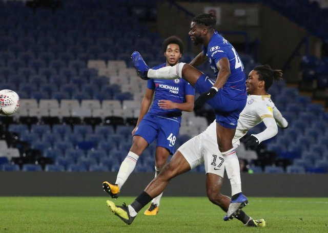 Action from a previous game between Chelsea and Posh.