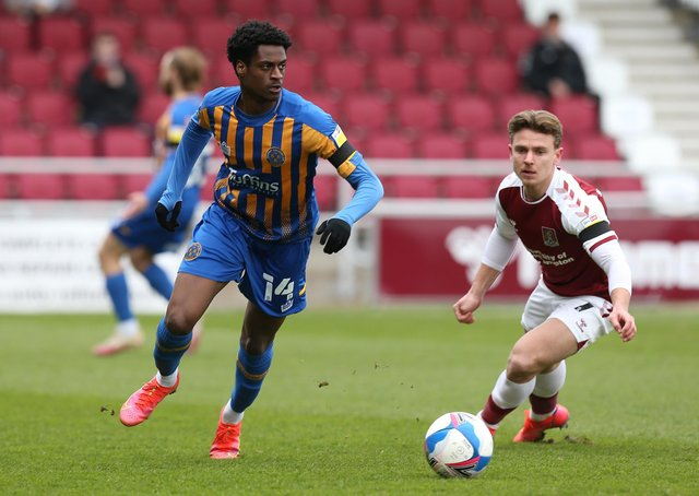 Nathanael Ogbeta in action. Photo: Pete Norton Gety Images.