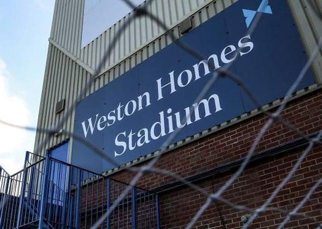 The Weston Homes Stadium.
