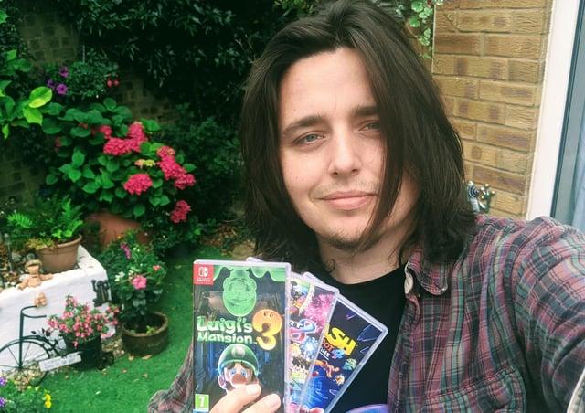 Daryl Williams, founder of Game Swap Shop UK.