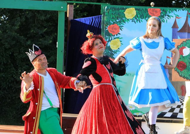 Alice in Wonderland Live in the Cloisters