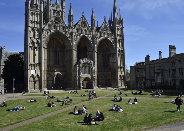 Peterborough Cathedral will be hosting heritage events.