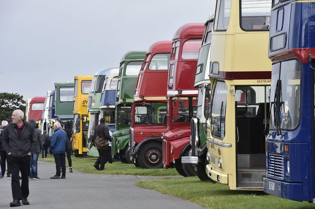 The Buses Festival at the East of England Arena. EMN-210808-164329009