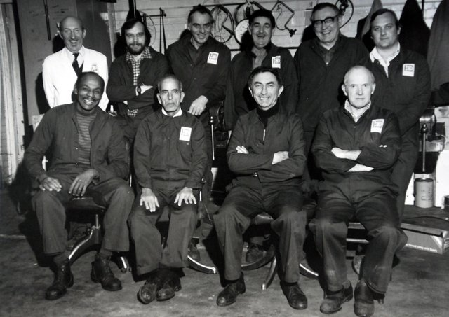 Workers at Baker Perkins pictured in the late 70s. Do you recognise anyone?
