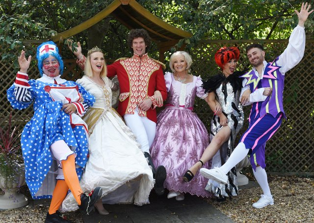 Beauty and the Beast panto pix at the Cresset EMN-210609-145727009
