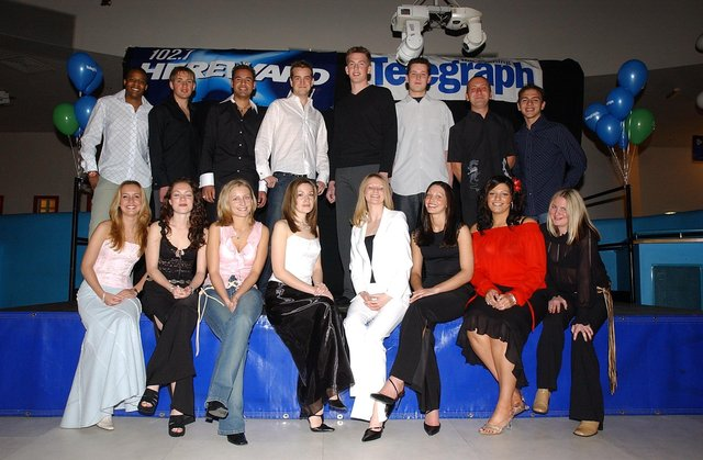 The Look finalists  line-up from 2002