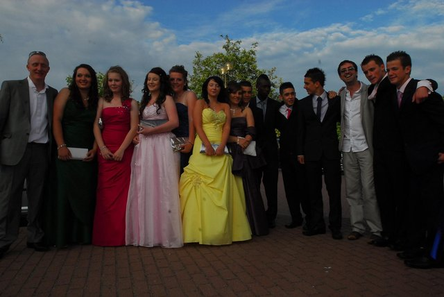 The  Bushfield Year 11 Prom at the Marriott Hotel in 2010. Do you recognise anyone pictured?