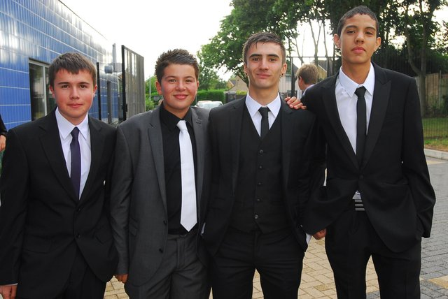 The Jack Hunt School Year 11 Prom in 2010.