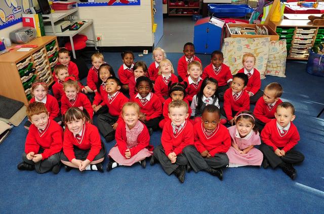 Rec10 Sacred Heart primary school reception class