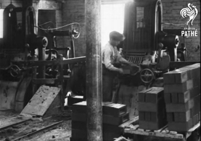 Pathe news has published footage of Fletton brick production in the 30s via the Youtube channel.