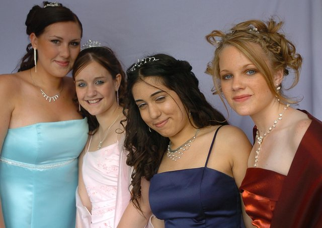 The Hereward College Leavers' Prom, at Focus Youth Centre, Dogsthorpe.