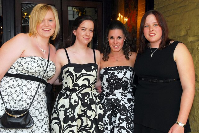 Students from Orton Longueville / Bushfield 6th Form pictured enjoying their Prom at the Bull Hotel in 2008.