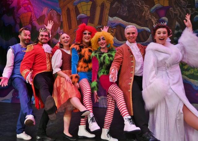 Cinderella panto press call at the Key Theatre EMN-210310-160912009