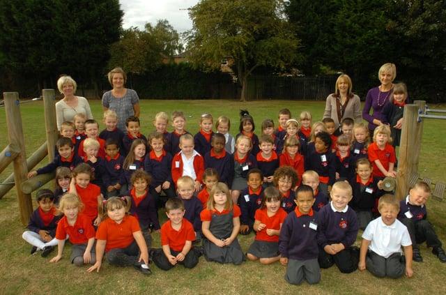 RC09. Discovery school reception. news. Discovery school reception pupils, walton.
