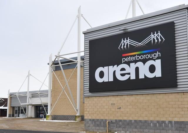 Peterborough Arena.