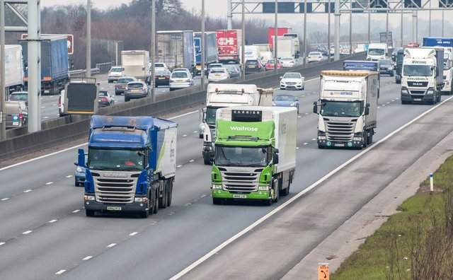 By 2040 sales of all new combustion engined lorries will be outlawed
