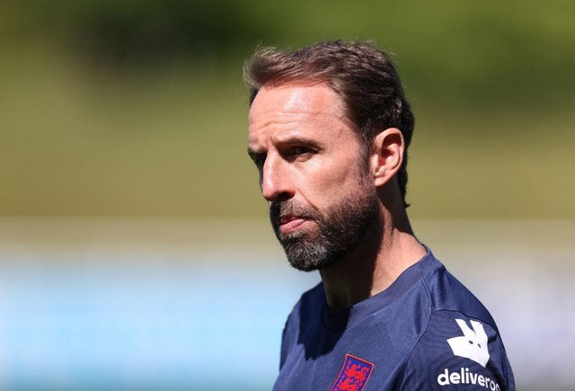 Gareth Southgate manager of England. (Photo by Catherine Ivill/Getty Images)