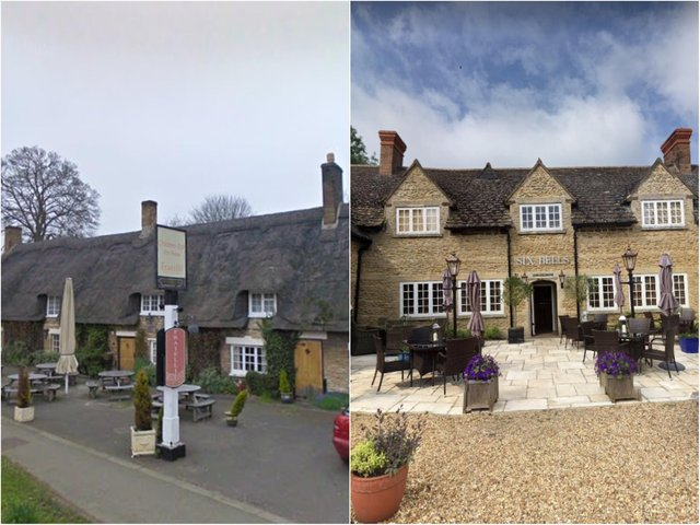 The Six Bells and Chubby Castor are two names among the 13 restaurants in this area, chosen by the Michelin Guide.