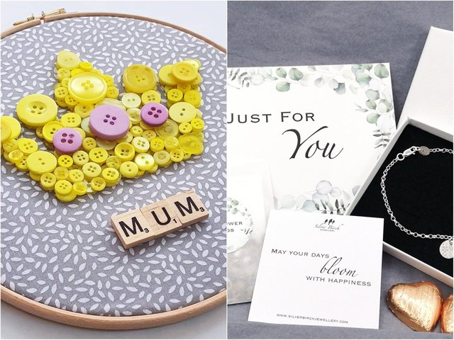 Shopping local has been made easy this year by the talented businesses in Peterborough who have been baking, creating and designing gift ideas for Mother's Day.