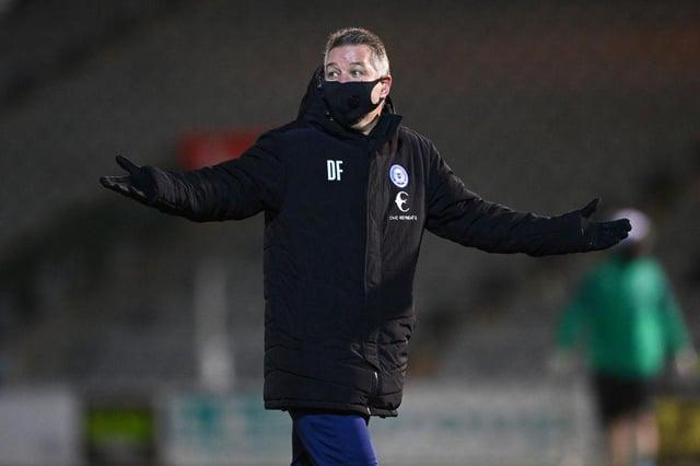 Darren Ferguson, Manager of Peterborough United. (Photo by Dan Mullan/Getty Images)